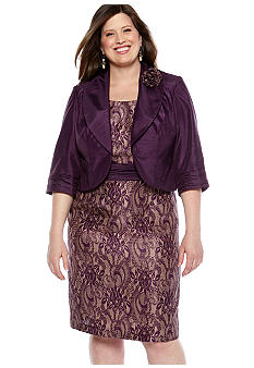 Dana Kay Plus Size Jacket Dress
