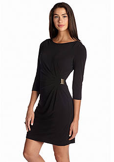 Laura Jeffries Matte Jersey Sheath Dress