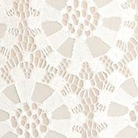 Plus Size Trendy Dresses: Ivory/Beige J Howard Plus Size Lace Shift Dress