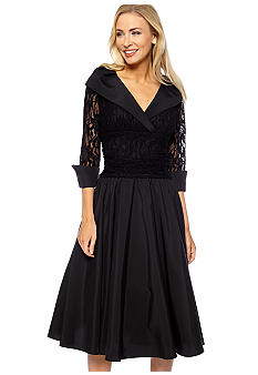 Jessica Howard Lace and Taffeta Dress