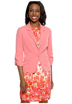 Jessica Howard Three-Quarter Sleeved Jacket Dress