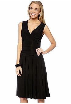 Jessica Howard Sleeveless Surplus Bodice Dress