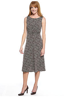 Jessica Howard Sleeveless Printed Dress