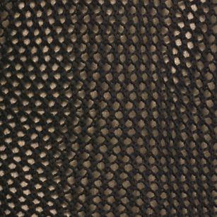 Lennie For Nina Leonard: Black Lennie for Nina Leonard Three-Quarter Sleeve Crochet Topper