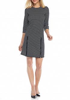 Lennie for Nina Leonard Stripe Shift Dress