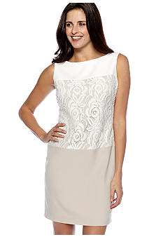 Sandra Darren Petite Sleeveless Sheath Dress