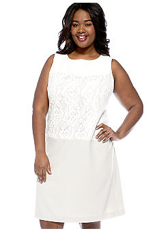 Studio 1 Plus Size Sleeveless Sheath Dress