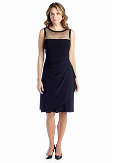 Perceptions Sleeveless Sheath Dress