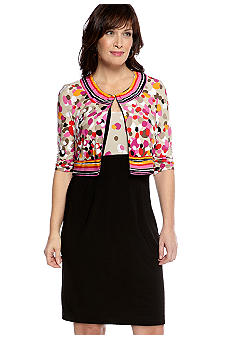Perceptions Three-Quarter Sleeved Jacket Dress