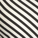 Juniors: Casual Sale: Black/White Stripe love, FIRE Sleeveless Rib Stripe Dress