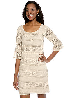 Chris McLaughlin Stretch Lace Dress