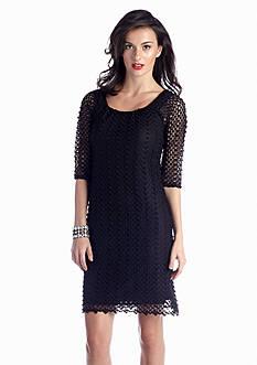 Chris McLaughlin Crochet Shift Dress