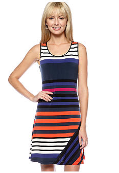 Calvin Klein Stripe Tank Dress