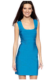 Calvin Klein Sleeveless Banded Fitted Dress