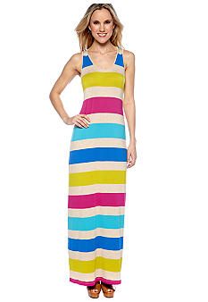Calvin Klein Multi Colored Stripe Maxi