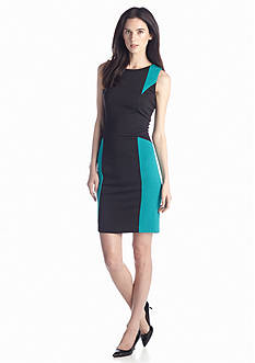 Calvin Klein Color-block Sheath Dress