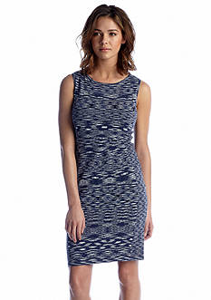 Calvin Klein Sleeveless Knit Sheath Dress