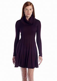 Calvin Klein Cowl-neck Sweaterdress