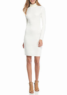 Calvin Klein Pearl Neck Sweater Dress