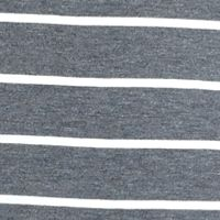 Eyeshadow Juniors Sale: Gray Eyeshadow Striped Knit Dress