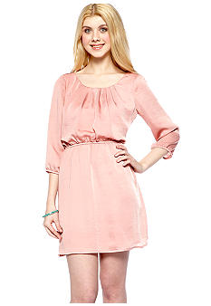 As U  Wish Three Quarter Sleeve Moonshadow Dress