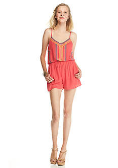 As U  Wish Embroidered Romper
