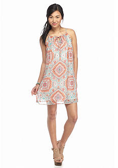 As U  Wish Paisley Slip Dress
