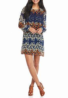 As U  Wish Floral Printed Swing Dress