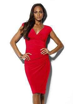 Lauren Ralph Lauren Matte Jersey Empire Dress