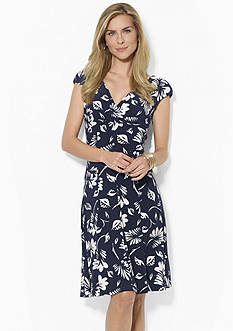 Lauren Ralph Lauren Printed Paneled Skirt Dress