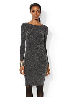 Lauren Ralph Lauren Metallic Knit Dress