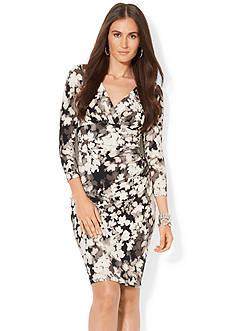 Lauren Ralph Lauren Long-Sleeved  Jersey Dress