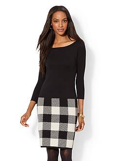 Lauren Ralph Lauren Cotton Sweaterdress
