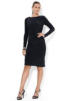 Long-Sleeved Jersey Dress