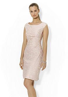 Lauren Ralph Lauren Jacquard Sheath Dress
