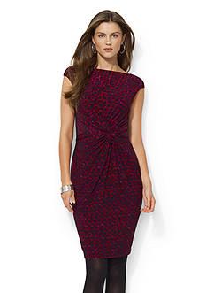 Lauren Ralph Lauren Jersey Knot Dress