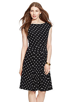 Lauren Ralph Lauren Printed Jersey Dress
