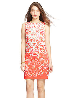 Lauren Ralph Lauren Sleeveless Floral Dress