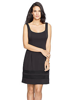 Lauren Ralph Lauren Neoprene Combo Dress