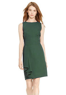 Lauren Ralph Lauren Draped Sheath Dress
