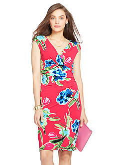 Lauren Ralph Lauren Floral Empire Dress