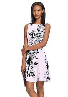 Lauren Ralph Lauren Floral Sateen Dress