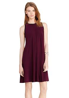 Lauren Ralph Lauren Jersey A-Line Dress