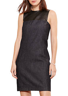 Lauren Ralph Lauren Denim Shift Dress