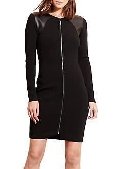 Lauren Ralph Lauren Zip-Front Dress