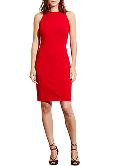 Lauren Ralph Lauren Ponte Sleeveless Dress