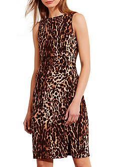 Lauren Ralph Lauren Ocelot-Print Jersey Dress