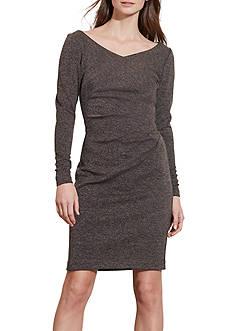 Lauren Ralph Lauren Pleated Sheath Dress