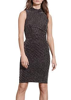 Lauren Ralph Lauren Metallic Herringbone Dress