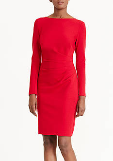 Lauren Ralph Lauren Ponte Sheath Dress